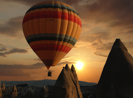 Fly Over The Spectacular Volcanic Landscape of Cappadocia