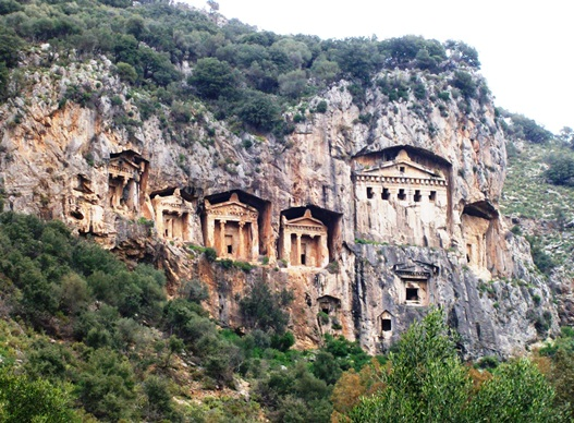 The Ancient Ruins of Kaunos and Lycian Tombs
